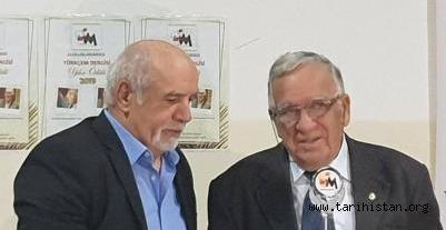 2019 Türkçem Ödülü Prof. Dr. Nimettullah Hafız ve Veli Muhammed Hoca'nın