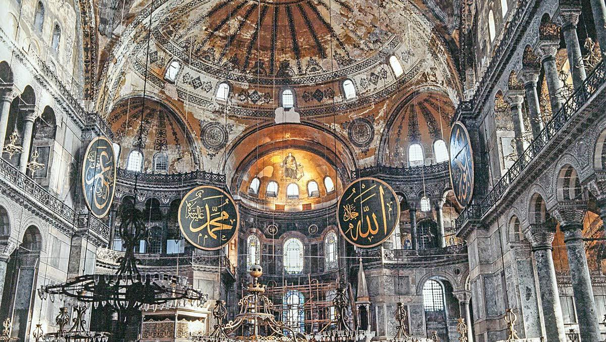 Ayasofya yeniden cami olarak ibadete açılıyor