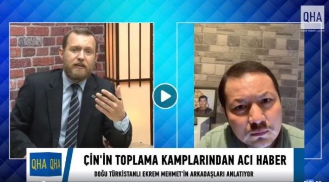 Doğu Türkistan'dan acı haberi gelen Ekrem Mehmet'in arkadaşları konuştu