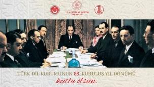 Türk Dil Kurumu 88 Yaşında