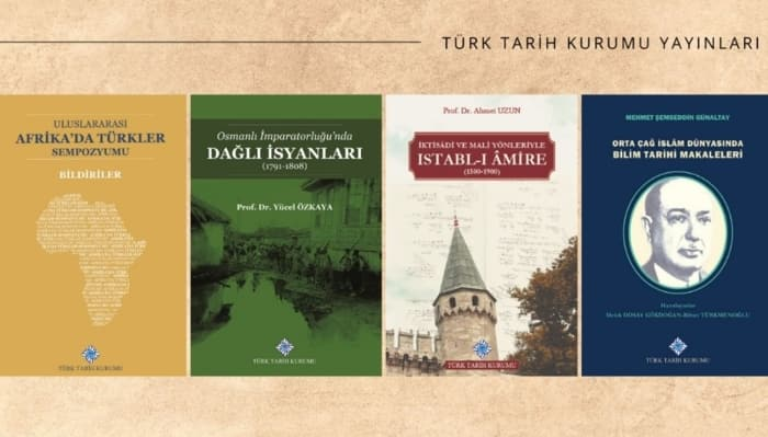 Türk Tarih Kurumundan Yeni Kitaplar