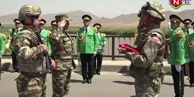 Türkiye-Azerbaycan orduları buluştu.