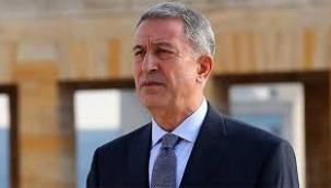 BAKAN AKAR: YUKARI KARABAĞ'I İŞGAL EDEN ERMENİSTAN'A KARŞI AZERBAYCAN'IN YANINDAYIZ