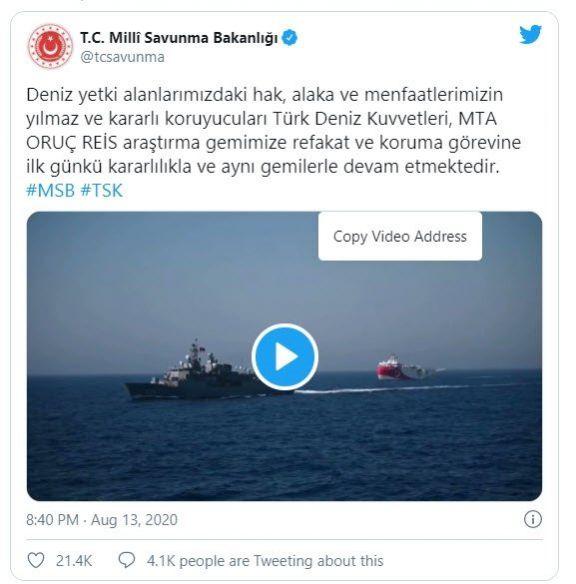 Oruç Reis'i koruyan Kemal Reis'ten Türk milletine selam! İnanılmaz hareket.