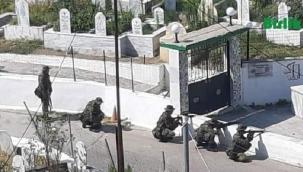 Yunan askeri Türk köylerinde sözde tatbikat yaptı