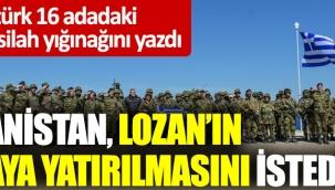 """""""Yunanistan Lozan'ın masaya yatırılmasını istedi"""""""