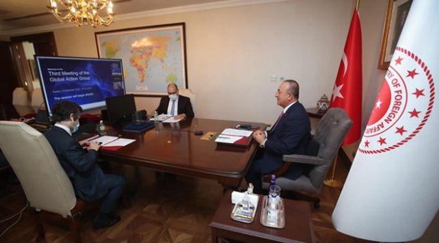 Bakan Çavuşoğlu, Dünya Ekonomik Forumu Küresel Eylem Grubu toplantısına katıldı