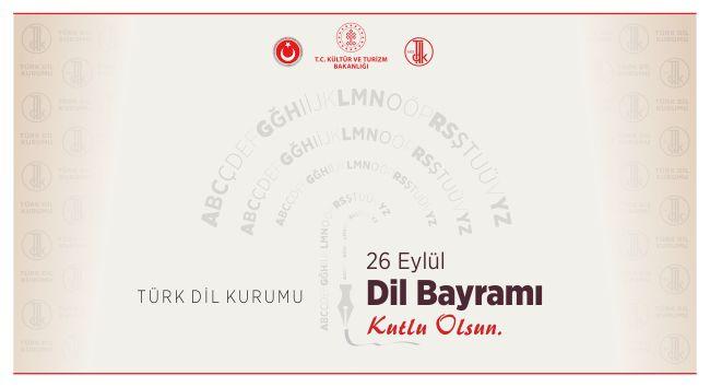Dil Bayramımızın 88. Yılı Kutlu Olsun!