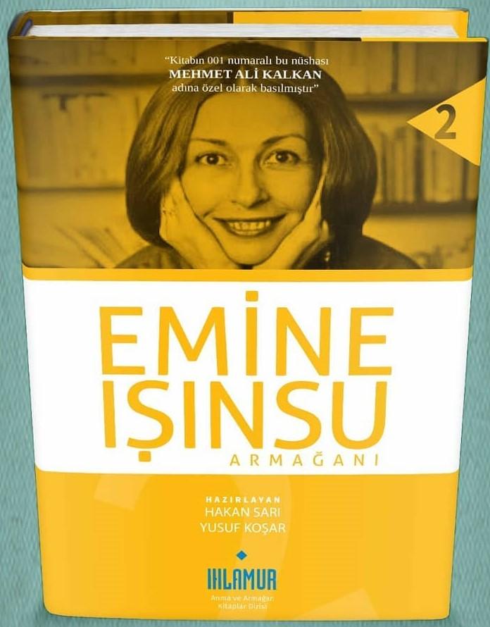 """""""EMİNE IŞINSU ARMAĞANI"""" kitabı Kasım'da okurla buluşuyor"""