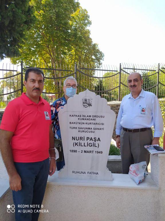 Kafkas İslam Ordusu Komutanı Nuru Paşa Mezarı Başında Anıldı