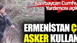 Ermenistan çocuk asker kullanıyor