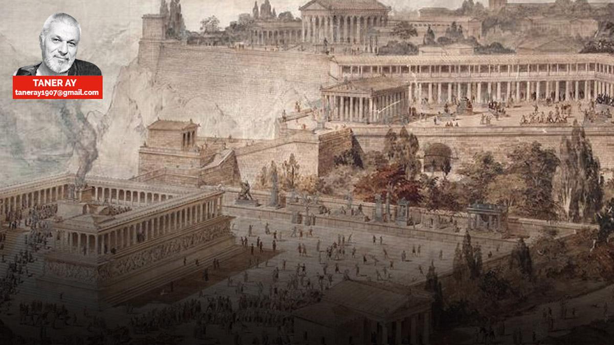 Pergamon kütüphânesi - TANER AY