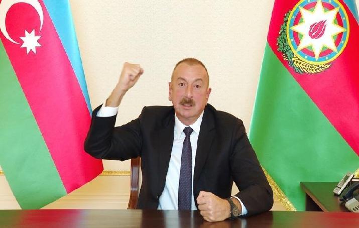 AZERBAYCAN CUMHURBAŞKANI ALİYEV: TÜRKİYE'DEN TOPRAK TALEBİNDE BULUNMAK İNTİHARDIR