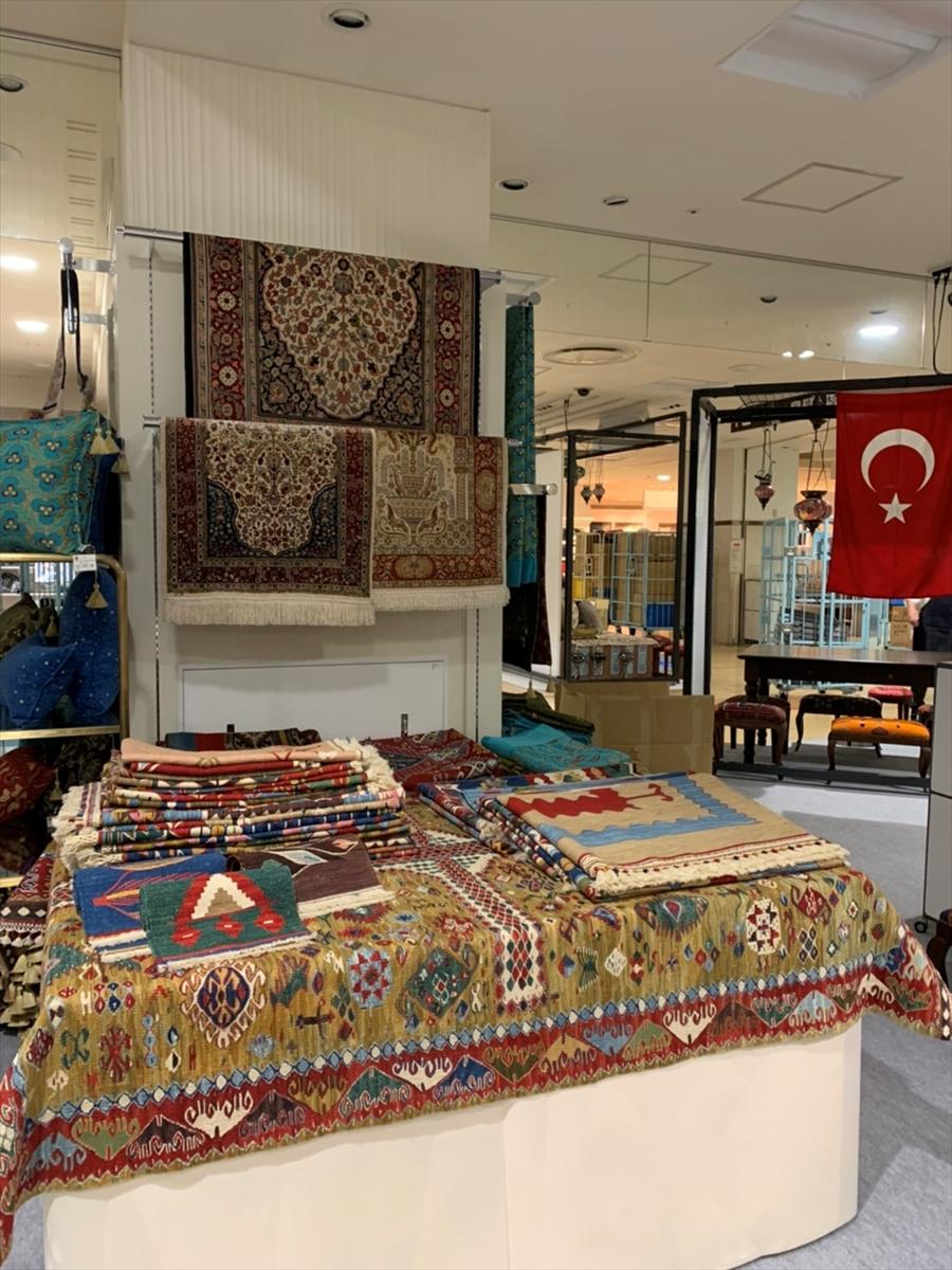 Japonya'da Türk pazarı sergisi