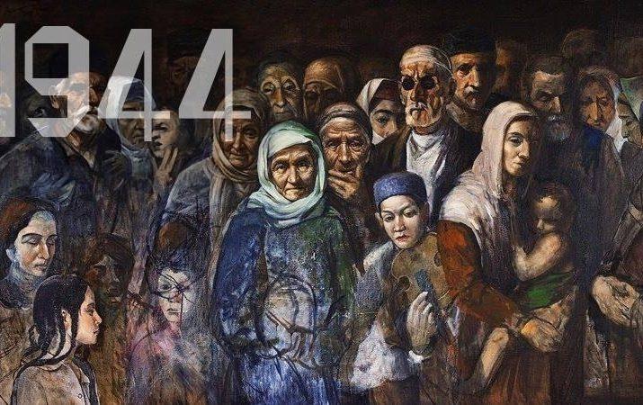 """KIRIM TATAR SÜRGÜNÜNÜ ANLATAN """"1944"""" BELGESELİ HİNDİSTAN YOLCUSU"""