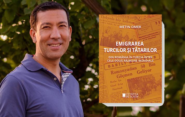 METİN OMER'İN ROMANYA'DAN TÜRKİYE'YE GÖÇLERİ ELE ALDIĞI DOKTORA TEZİ KİTAPLAŞTIRILDI