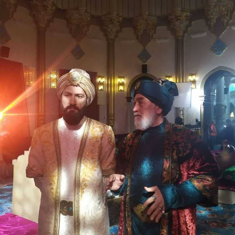 Özbekistan'da Babür'ün hayatı film oluyor.