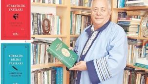 """Prof. Dr. Ercilasun'un, """"Türkçülük Yazıları"""" ve """"Türklük Bilimi Yazıları"""" adlı kitapları"""