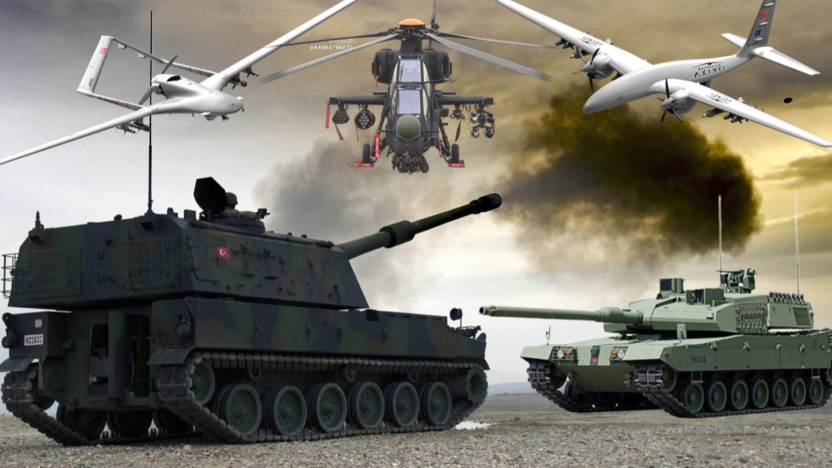 Türk savunma sanayisi dünyada üçüncü sırada