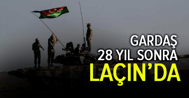 Azerbaycan Ordusu Laçın'da
