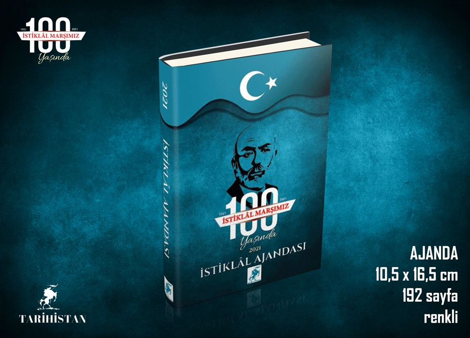 İstiklal Ajandası siparişleriniz için link