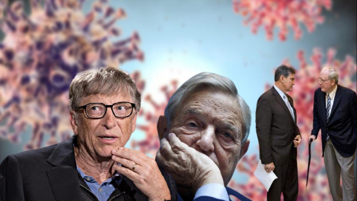 Covid-19'un arkasında Soros, Rockefeller ve Bill Gates olduğu iddia ediliyor