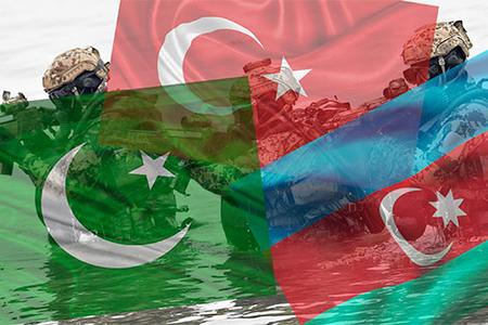 Hilal bayraklı üç kardeş ülke zirvesi