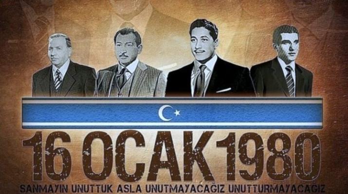 Irak Türkmen liderleri anılıyor: 16 Ocak Türkmen Şehitleri Günü