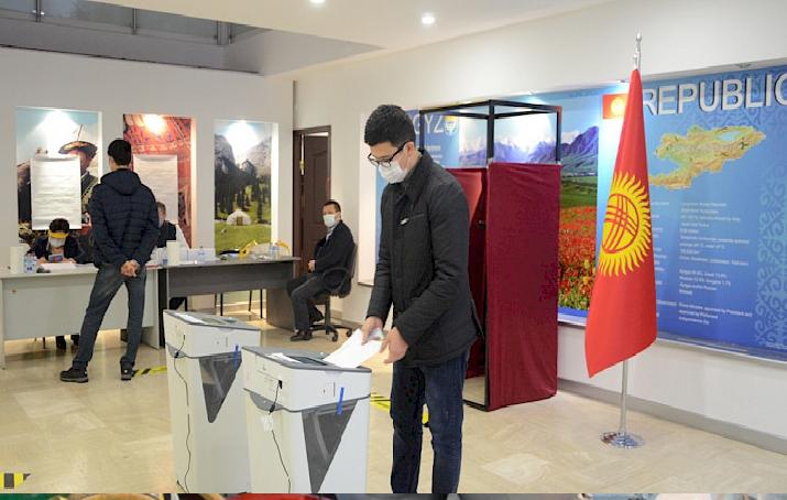 Kırgızistan'da halk bugün sandık başında!