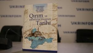 Kırım Tarihi ders kitabı, Kırım Derneği Genel Merkezinden temin edilecek