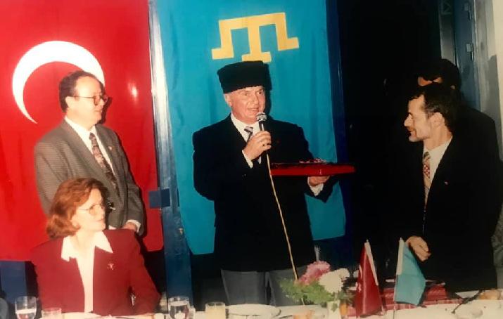 Milli Lider Kırımoğlu'ndan, Ahmet Kemal Baysak için taziye mesajı