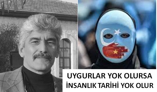 Veli Metin Türkoğlu: UYGURLAR YOK OLURSA DÜNYA TARİHİ YOK OLUR