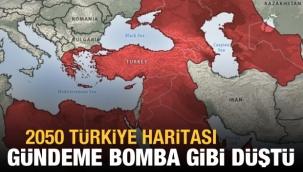 ABD'ye göre Türkiye'nin 2050 yılı haritası