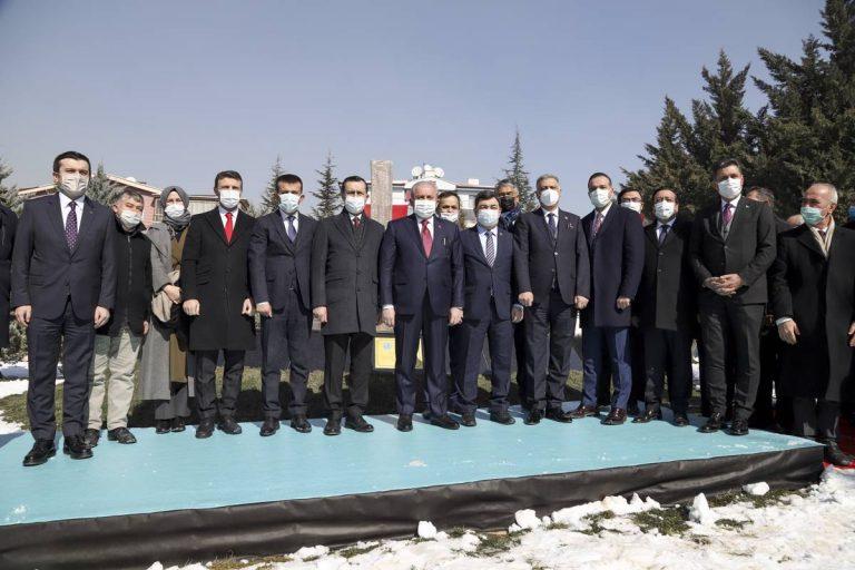 Ankara'da Türk Dünyası Tonyukuk Parkı açıldı