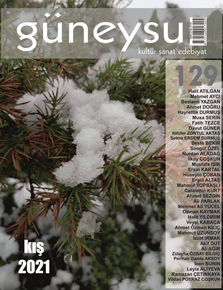 Güneysu Dergisi, Sayı 129, Kış 2021 / Nurdan Aladağ - İlkay Coşkun - Söyleşi