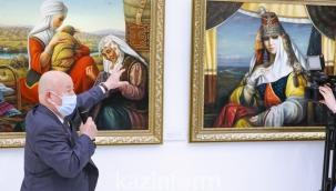 """""""Kamil Mullashev'in Sanat Dünyası"""" sergisinin açılışı"""
