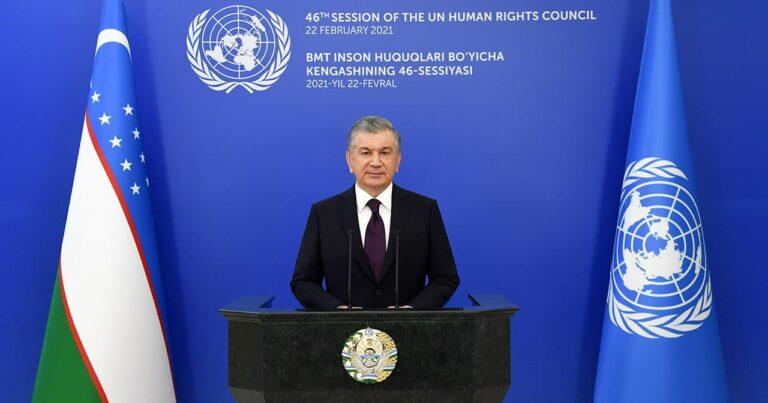 """Özbekistan Cumhurbaşkanı Mirziyoyev: """"Demokratik reformlarımız yeni bir Özbekistan inşa etmeyi hedefliyor"""""""