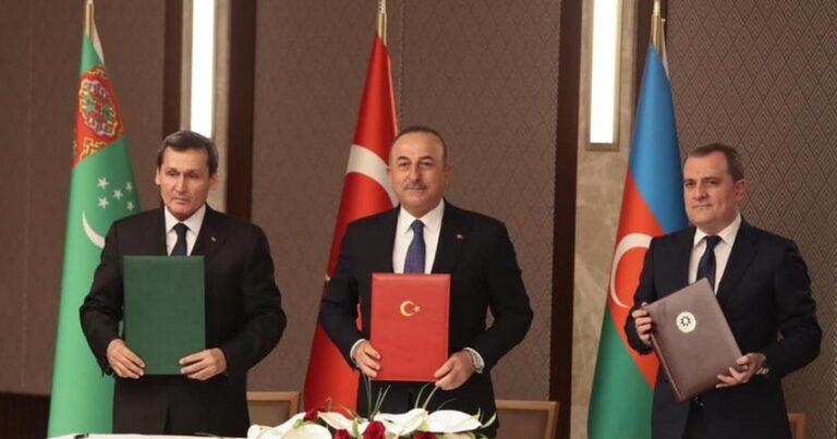 Türkiyə, Azərbaycan və Türkmənistandan birgə