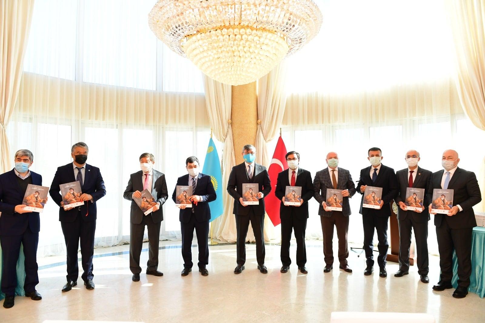 Ulu Bozkırın Büyük Şahsiyetleri Abay, Farabi ve Jambıl Ankara'da Anıldı