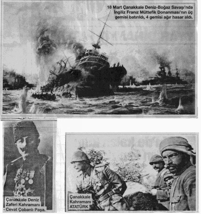 18 Mart Çanakkale'de Deniz Savaşı Gerçekleri - Ferit Erden BORAY