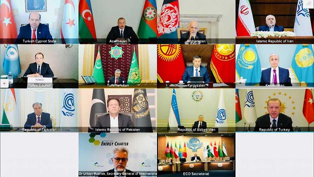 Türk Konseyi Genel Sekreteri 14. Ekonomik İşbirliği Teşkilatı Zirvesine katıldı