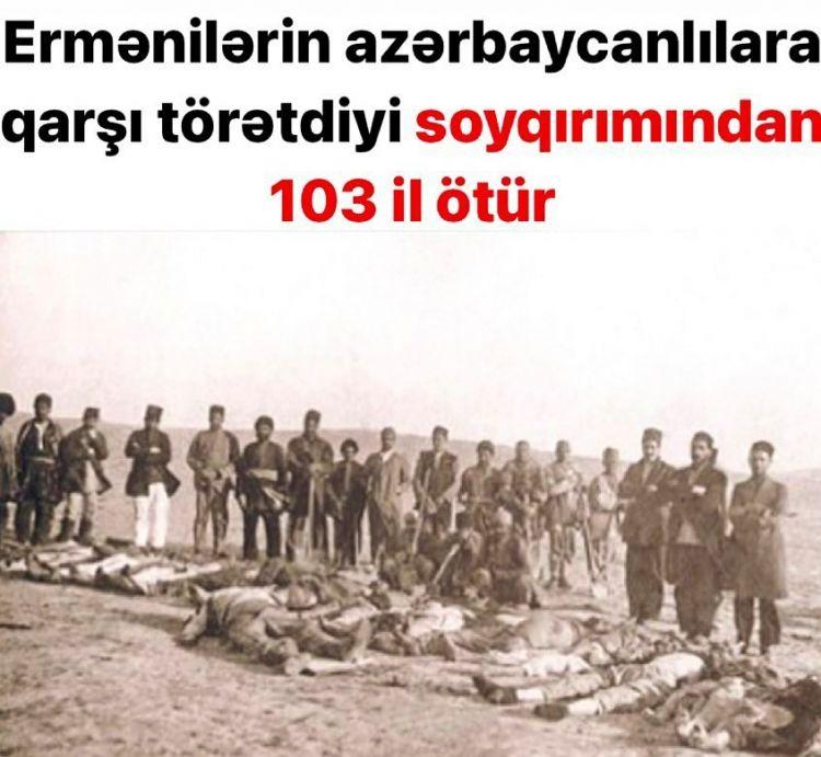 """31 Mart, """"Azerbaycanlıların Soykırım Günü"""""""