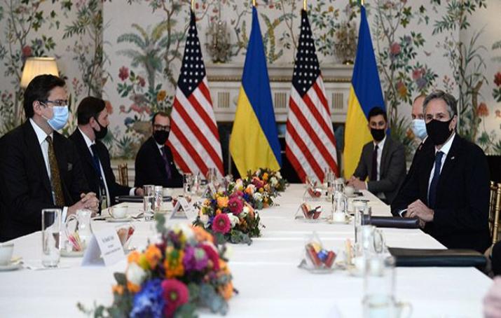 ABD, Rusya'nın artan askeri hareketliliği karşısında Ukrayna'ya desteğini iletti