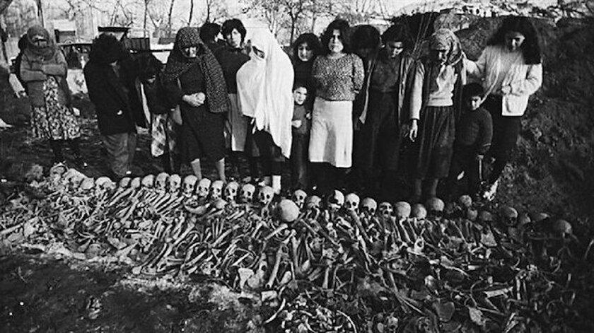Anadolu'da yüzlerce toplu mezar var