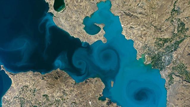 NASA'nın yarışmasını Van Gölü kazandı!