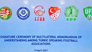 Türk Dili Konuşan Ülkelerin Futbol Federasyonları arasında İşbirliği Mutabakat Zaptı imzalandı.