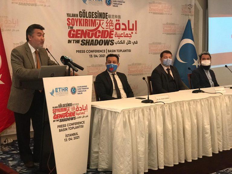 Yalanın Gölgesinde Soykırım: İstanbul'da Doğu Türkistan konulu basın toplantısı yapıldı