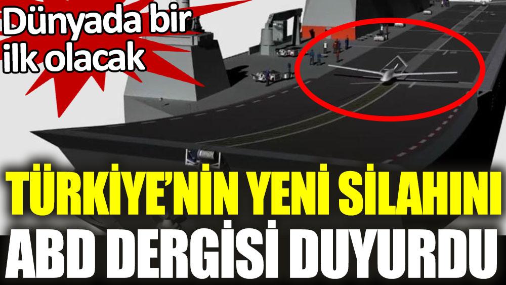 DÜNYADA İLK DRONE UÇAK GEMİSİ
