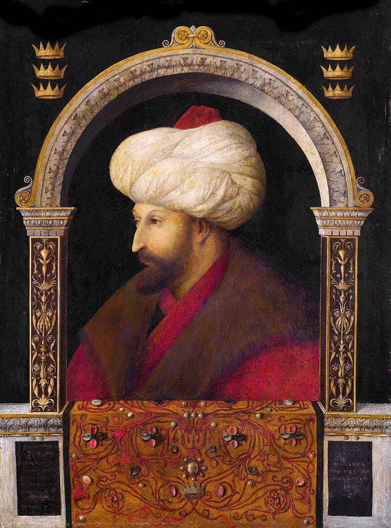 Fatih'in portresindeki sandığın sırrı