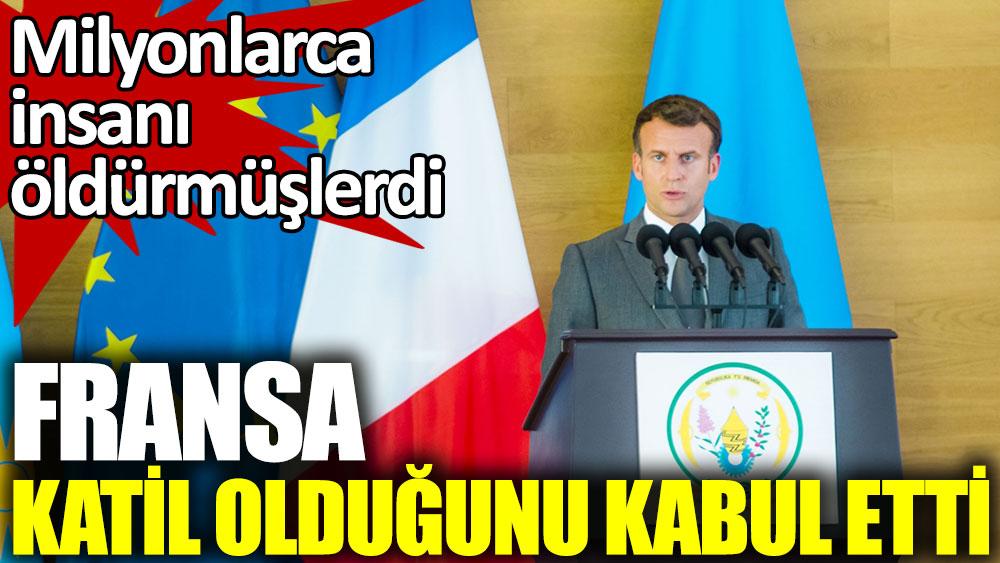 Fransa Ruanda'da Katliam Yaptığını Kabul Etti